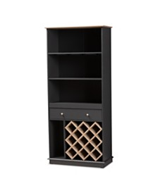 Mattia Wine Cabinet, Quick Ship