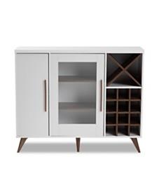Pietro Wine Cabinet, Quick Ship