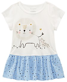 Toddler Girls Cotton Lion Tunic, Created for Macy's