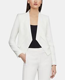 BCBGMAXAZRIA Open-Front Asymmetrical Jacket