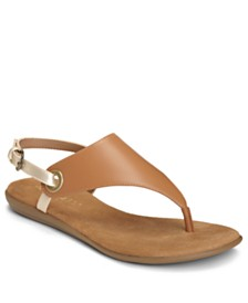 Aerosoles In Conchlusion T-Strap Thong Sandals
