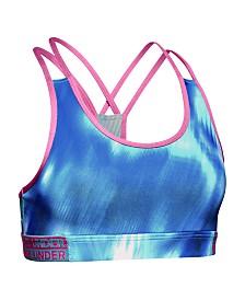 Under Armour Girls' HeatGear® Armour Novelty Sports Bra