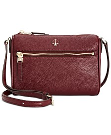 kate spade new york Polly Pebble Leather Crossbody