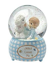 Jesus Loves Me Snow Globe, Boy