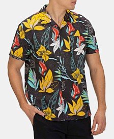 Men's Domino Floral Graphic Shirt