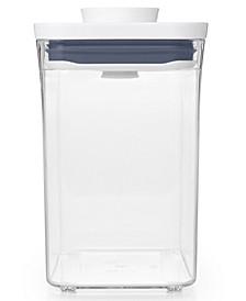 Pop Rectangular Short Food Storage Container