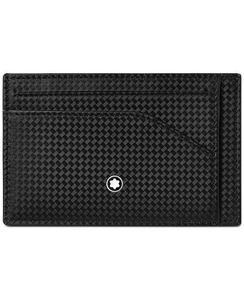 Montblanc Men's Extreme 2.0 Black Leather Card Holder