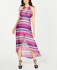 Halter Wrap Maxi Dress, Created for Macy's