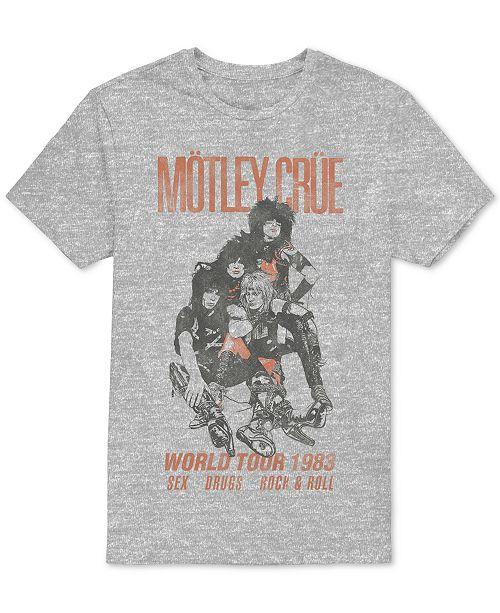 H3 Men's Mötley Crüe World Tour Graphic T-Shirt