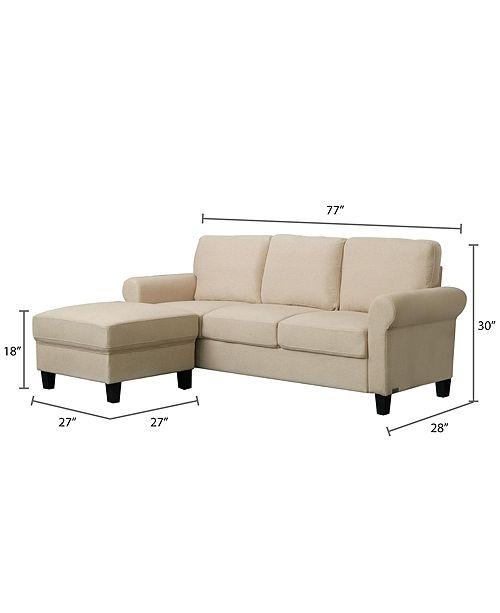 new style 48524 6e2f6 Sienna 76 Sofa and Ottoman Set, Quick Ship