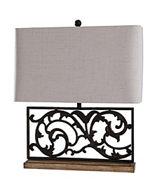 Whitby 26in Traditional Cast Iron Table Lamp