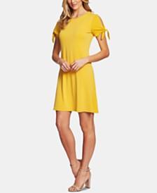 CeCe Tie-Sleeve Dress
