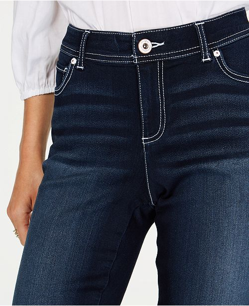 f11855ba I.N.C. Curvy-Fit INCFinity Bootcut Jeans, Created for Macy's