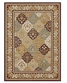 CLOSEOUT! Loloi Area Rug, Samira WL02 Panel Multi/Coffee 2' x 3'