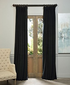 "Exclusive Fabrics & Furnishings Signature Blackout Velvet 50"" x 120"" Curtain Panel"