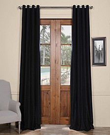"Grommet Blackout Taffeta 50"" x 84"" Curtain Panel"