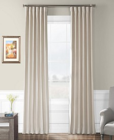 """French Linen 50"""" x 84"""" Curtain Panel"""