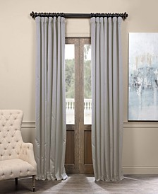 "Exclusive Fabrics & Furnishings Extra Wide Blackout 100"" x 96"" Curtain Panel"