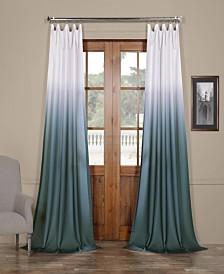 "Exclusive Fabrics & Furnishings Ombre Semi Sheer 50"" x 96"" Curtain Panel"