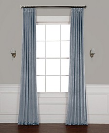 "Heritage Plush Velvet 50"" x 108"" Curtain Panel"