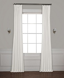 "Solid Cotton Blackout 50"" x 108"" Curtain Panel"