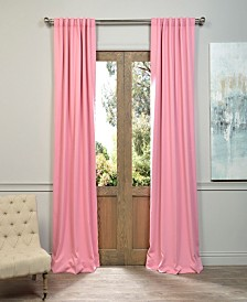 "Exclusive Fabrics & Furnishings Blackout 50"" x 96"" Curtain Panel"