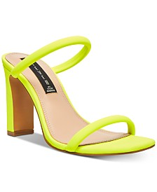 STEVEN by Steve Madden Women's Jersey Naked Sandals