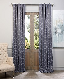 "Exclusive Fabrics & Furnishings Seville Blackout 50"" x 84"" Curtain Panel"