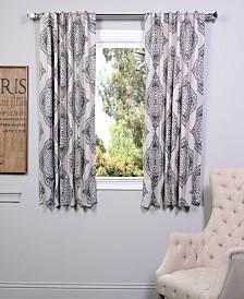 "Exclusive Fabrics & Furnishings Henna Blackout 50"" x 63"" Curtain Panel"