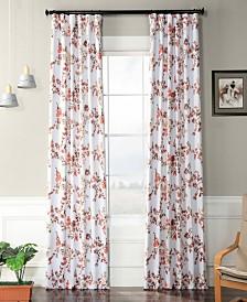 "Exclusive Fabrics & Furnishings Elm Blackout 50"" x 84"" Curtain Panel"