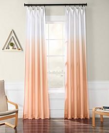 "Ombre Semi Sheer 50"" x 108"" Curtain Panel"