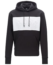 BOSS Men's Sly Relaxed-Fit Hooded Sweatshirt