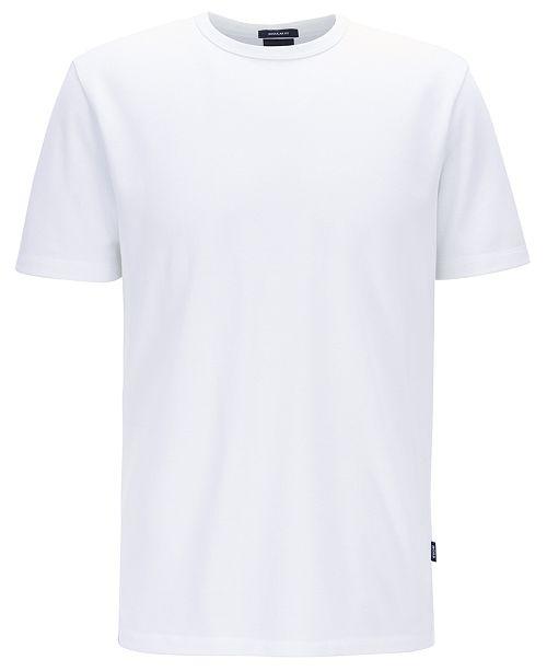 Hugo Boss BOSS Men's Tiburt 137 Crew-Neck Cotton Piqué T-Shirt