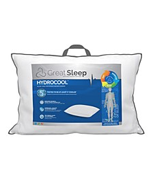 "CLOSEOUT! 5 Degree Hydrocool 1"" Standard/Queen Pillow"