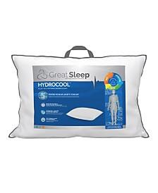 """Great Sleep 5 Degree Hydrocool 1"""" Standard/Queen Pillow"""