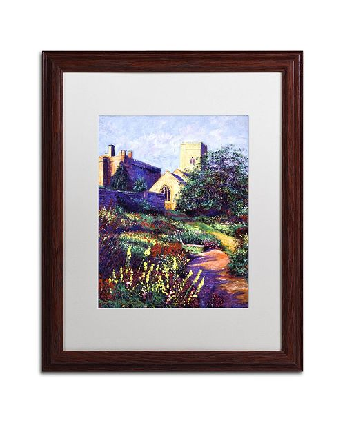 "Trademark Global David Lloyd Glover 'Dusk at Sunset' Matted Framed Art - 16"" x 20"""