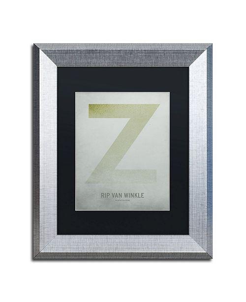 """Trademark Global Christian Jackson 'Rip Van Winkle' Matted Framed Art - 11"""" x 14"""""""