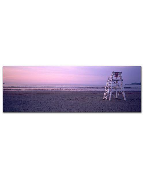 """Trademark Global Preston 'Beach Chair' Canvas Art - 19"""" x 6"""""""