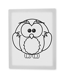 """'Olive the Owl' Canvas Art - 10"""" x 8"""""""