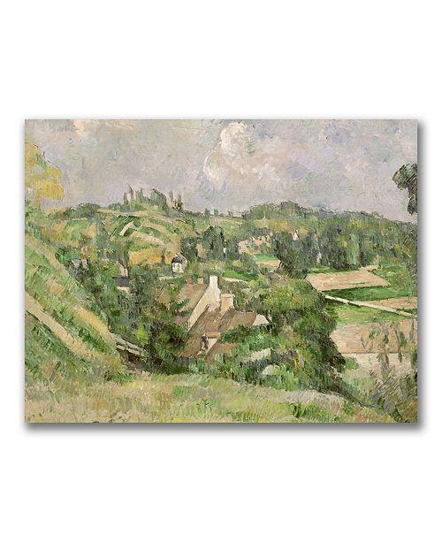 """Trademark Global Paul Cezanne 'Auvers-sur-Oise' Canvas Art - 32"""" x 24"""""""