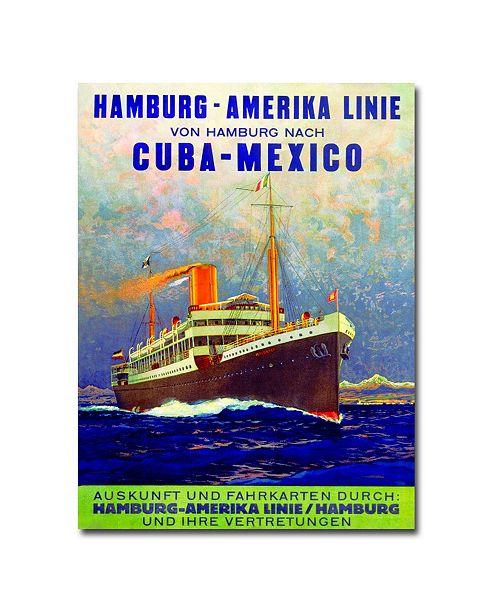 "Trademark Global Cuba-Mexico 1899' Canvas Art - 24"" x 18"""