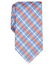 Nautica Men's Aubey Slim Plaid Tie