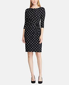 Lauren Ralph Lauren Jersey Cowlneck Dress