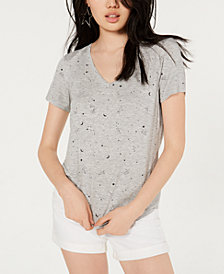 Self Esteem Juniors' Constellation-Print T-Shirt