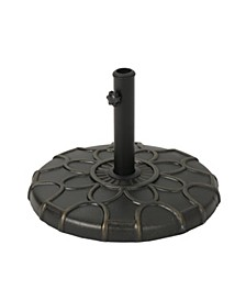 Caruso Outdoor Umbrella Base, Quick Ship