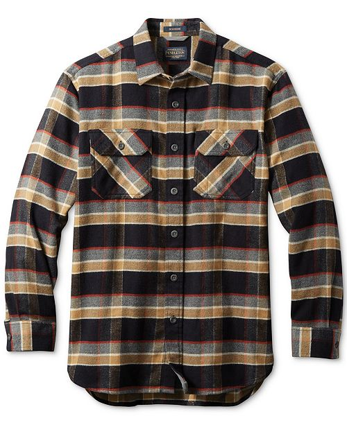 Pendleton Men's Super Soft Burnside Flannel Shirt