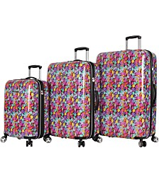 Betsey Johnson Hardside Luggage Collection