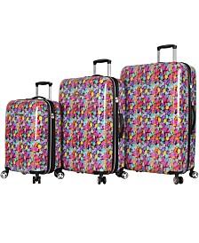 Betsey Johnson Hardside Luggage Collection