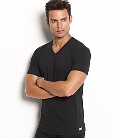 calvin klein men's stretch-cotton v-neck Undershirt 2-pack nb1179