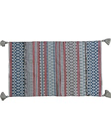 Modern Area Accent Rug 2' x 3.75' with Fringes